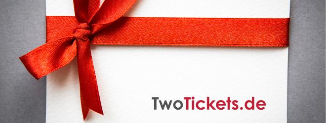 Der Geschenk-Gutschein für TwoTickets.de