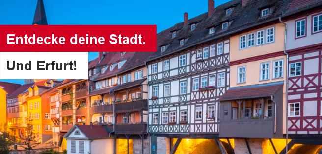 190522 Entdecke deine Stadt. Und Erfurt