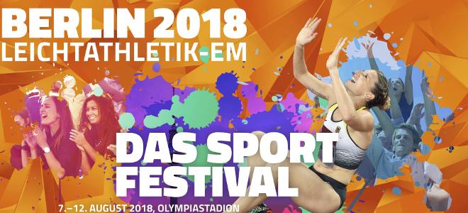 """Berlin: """"Leichtathletik-EM 2018"""" im Olympiastadion Berlin"""
