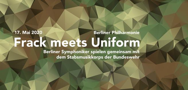 """Berlin: """"Frack meets Uniform"""" - Berliner Symphoniker in der Berliner Philharmonie"""