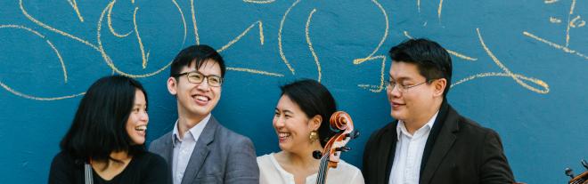 """Berlin: Formosa Quartet """"Lauschen von Ungarn bis Taiwan"""" im Kammermusiksaal der Philharmonie"""