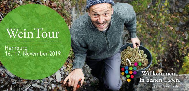 Hamburg: Tageskarte für die WeinTour 2019