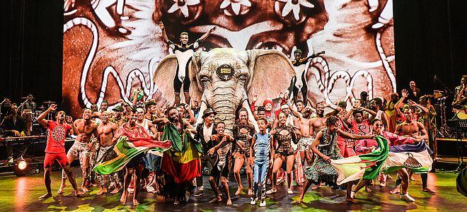 """Hamburg: """"AFRIKA! AFRIKA!"""" im Mehr! Theater am Großmarkt"""
