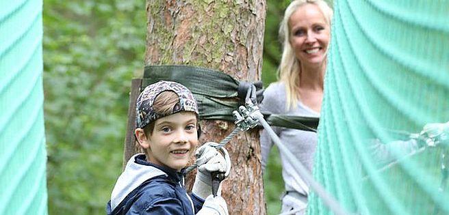 Berlin: Wertgutschein für den Kletterwald Wuhlheide