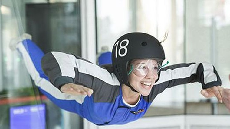 "Berlin: ""Indoor Skydiving Airlebnis M"" bei Windobona Berlin"