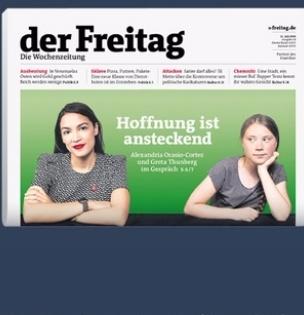 """Zu deinem Start 2 Ausgaben der Wochenzeitung """"der Freitag"""" kostenlos!"""