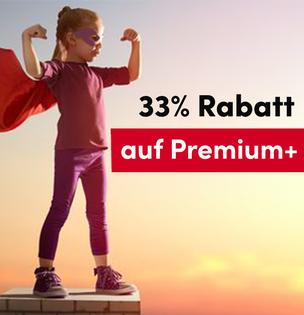 Spare jetzt 55€ auf die Premium+ Mitgliedschaft!