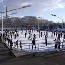 Eisbahn im Erika-Heß-Eisstadion Wedding