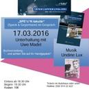 Uwe Madel (Täter Opfer Polizei) & Undine Lux (live)