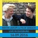 Ridon Jakupi und Felix Gerach