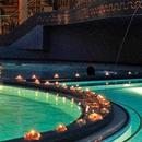 Romantisches Vollmondschwimmen