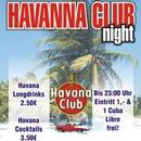Havanna Club Night