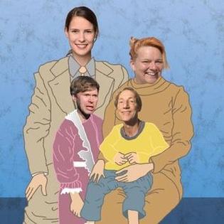 UNSERE FAMILIE ZU WEIHNACHTEN