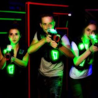 Gutschein für Lasertag