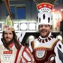 SchereSteinPapier & Tanzklub Ost feiern Karneval