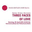 Barber, Britten, Bernstein