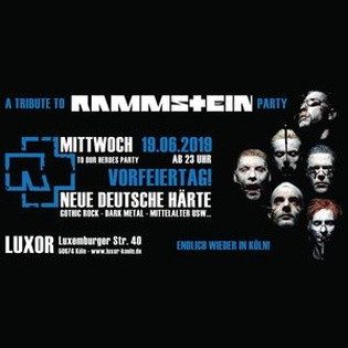A Tribute To Rammstein Party
