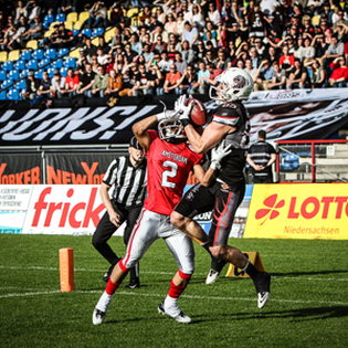 New Yorker Lions vs. Hildesheim Invaders
