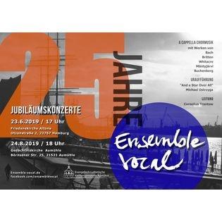 """25 Jahre Ensemble vocal"""