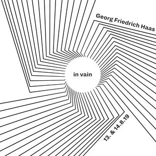 Georg Friedrich Haas: in vain für 24 Instrumente