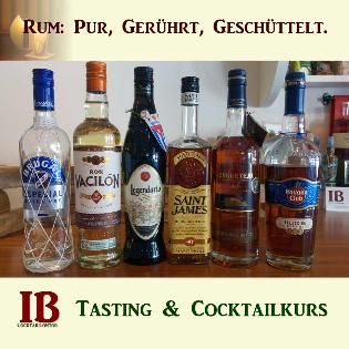 Rum: Pur, gerührt, geschüttelt.