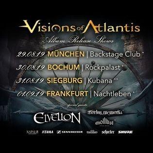 Visions of Atlantis | Rockpalast Bochum