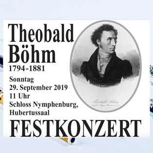 Festkonzert zum 225. Geburtstag von Theobald Böhm
