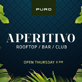 Aperitivo * Rooftop Bar
