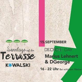 Sonntags auf der Terrasse - Discotronic Day