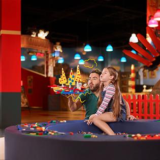 Der ultimative Indoor LEGO® Spielplatz