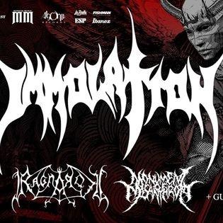 Immolation - The Last Atonement Tour 2019