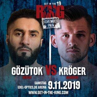 "K1-Kickbox-Event ""Get in the Ring"" - Kick-Box-Gala"