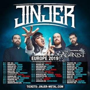 Jinjer - Europe 2019