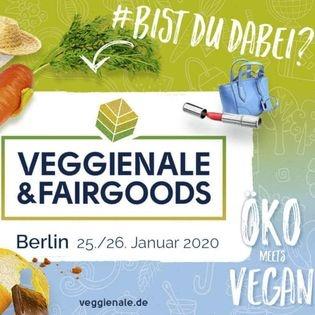 Veggienale & FairGoods Berlin 2020