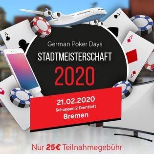 Stadtmeisterschaft 2020 in Bremen by German Poker Days