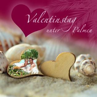 Valentinstag unter Palmen