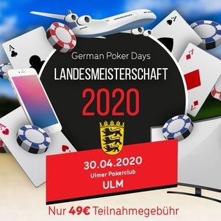 Poker Landesmeisterschaft 2020 Baden Württemberg