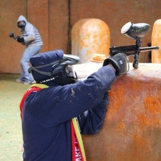 Paintball in der Color-Area Hanau
