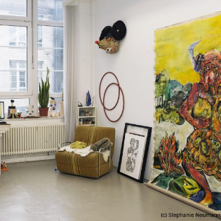 art:berlin - Studio Visits emerging artists