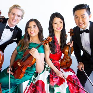 Viano String Quartet spielt in der St. Johannis Kirche