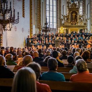 Abschlusskonzert Schubert Es-Dur Messe