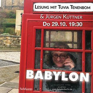 Allein unter Briten - Lesung mit Tuvia Tenenbom