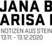 """""""Notizen aus Stein"""""""