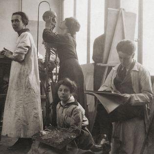 Frau darf … 100 Jahre Künstlerinnen an der Akademie