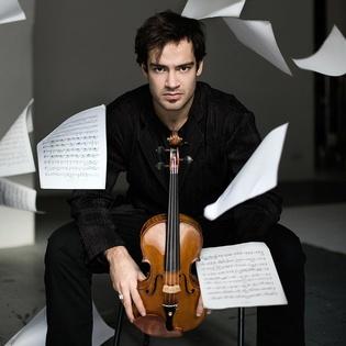Marc Bouchkov (Violine) & Daniel Lozakovich (Violine)