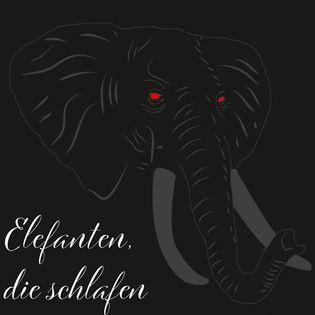 Elefanten, die schlafen