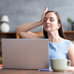Yoga für freie Schulter und einen entspannten Nacken