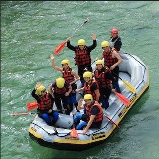 Isar Rafting in Bayern