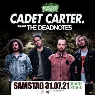 Cadet Carter + The Deadnotes