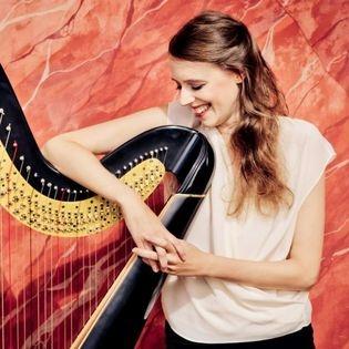 Oboe und Harfe